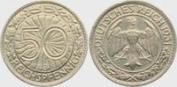 50 Pfennig 1931 J Weimar 50 Reichspfennig vz
