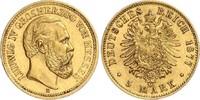 5 Mark 1877 H Hessen Ludwig IV.(1877-1892) vz
