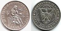 3 Reichsmark 1930 D Weimarer Republik Walt...