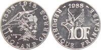 10 Francs 1988 Frankreich Roland Garros - ...