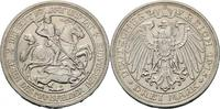 3 Mark 1915 A Preussen Mansfeld vz/Rf.