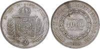 1000 Reis 1859 Brasilien Pedro II. 1831-18...