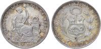 Dinero 1909 Peru Republik seit 1821/1825. ...