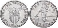 Peso 1909 Peru Republik seit 1821/1825. Fa...