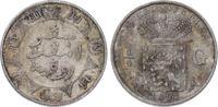 1/2 Gulden 1898 Niederländisch Indien  Vor...