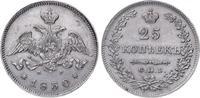 25 Kopeken 1830 Russland Nikolaus I. 1825-...