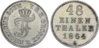 1/48 Taler 1864  A Mecklenburg-Schwerin Fr...