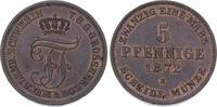 5 Pfennig 1872  B Mecklenburg-Schwerin Fri...