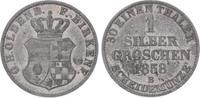 Silbergroschen 1858  B Oldenburg Nicolaus ...