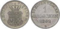 Silbergroschen 1869  B Oldenburg Nicolaus ...