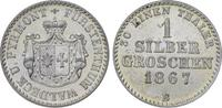 Silbergroschen 1867  B Waldeck Georg Victo...