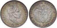 50 Centavos 1932  B Kolumbien Republik sei...