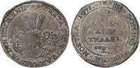 1/3 Taler 1671 Jever, Herrschaft Carl Wilh...