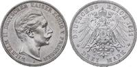 3 Mark 1911  A Preußen Wilhelm II. 1888-19...