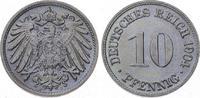 10 Pfennig 1904  D Kleinmünzen  Fast Stemp...