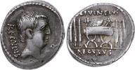 Denar 42 v. Chr Republik L. Livineius Regu...