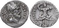Denar 42-40 v. Ch Republik Sex. Pompeius P...