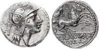 Denar 91 v. Chr Republik D. Iunius Silanus...
