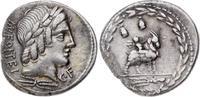 Denar 85 v. Chr Republik Mn. Fonteius C.f....