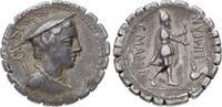 Denar 82 v. Chr Republik C. Mamil Limetanu...