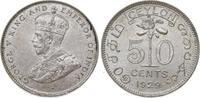 50 Cents 1929 Sri Lanka (Ceylon) George V....