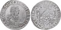 1/3 Taler 1668  CR Sachsen-Albertinische L...