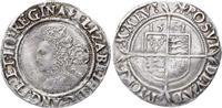 6 Pence 1561 Großbritannien Elizabeth I. 1...