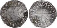 1/2 Groat 1558-1603 Großbritannien Elizabe...