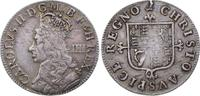 4 Pence (Groat) 1660-1685 Großbritannien C...