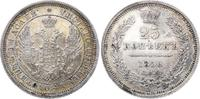 25 Kopeken 1856 Russland Alexander II. 185...