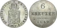 6 Kreuzer 1849 C. Habsburgische Erblande-Ö...