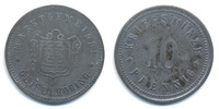 10 Pfennig ohne Jahr Bayern Geiselhöring - Zink vernickelt ohne Jahr (F... 32,00 EUR  +  4,80 EUR shipping