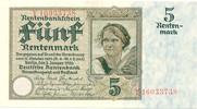 5 Rentenmark 1926 Deutsches Reich Rentenbank 1923-1937 Rosenberg Nr. 16... 70,00 EUR  +  4,80 EUR shipping