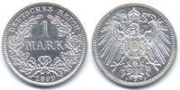 1 Mark 1899 F Kaiserreich großer Adler - Silber prägefrisch  115,00 EUR  +  6,80 EUR shipping