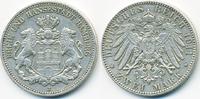 2 Mark 1911 J Hamburg Freie und Hansestadt sehr schön+  42,00 EUR  +  4,80 EUR shipping