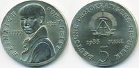 5 Mark 1986 DDR Heinrich von Kleist - Kupfer/Nickel prägefrisch  90,00 EUR  +  4,80 EUR shipping