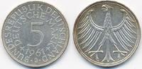 5,-DM 1961 J BRD Silber vorzüglich+  49,00 EUR  +  4,80 EUR shipping