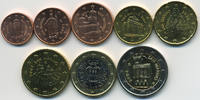 Kursmünzensatz 2004 San Marino - San Marin...