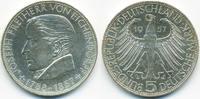 5,- DM 1957 G BRD Freiherr von Eichendorff fast prägefrisch  200,00 EUR  +  6,80 EUR shipping