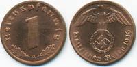 1 Reichspfennig 1936 A Drittes Reich Kupfe...