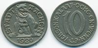 10 Pfennig 1920 Rheinprovinz Aachen - Eise...