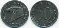 50 Pfennig 1920 Rheinprovinz Aachen - Eise...