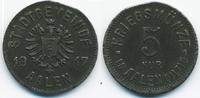 5 Pfennig 1917 Württemberg Aalen - Eisen 1...