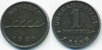 1 Pfennig 1920 Württemberg Aalen - Eisen 1...