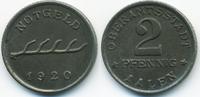 2 Pfennig 1920 Württemberg Aalen - Eisen 1...