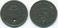5 Pfennig 1917 Bayern Abensberg - Zink 191...