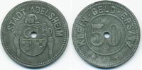 50 Pfennig ohne Jahr Baden Adelsheim - Zin...