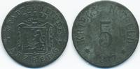 5 Pfennig 1917 Bayern Arzberg - Zink 1917 ...
