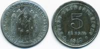 5 Pfennig 1917 Bayern Aschaffenburg - Zink...