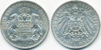 3 Mark 1911 J Hamburg Freie und Hansestadt...